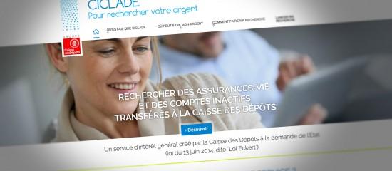 Un site Internet pour rechercher des sommes d'argent oubliées